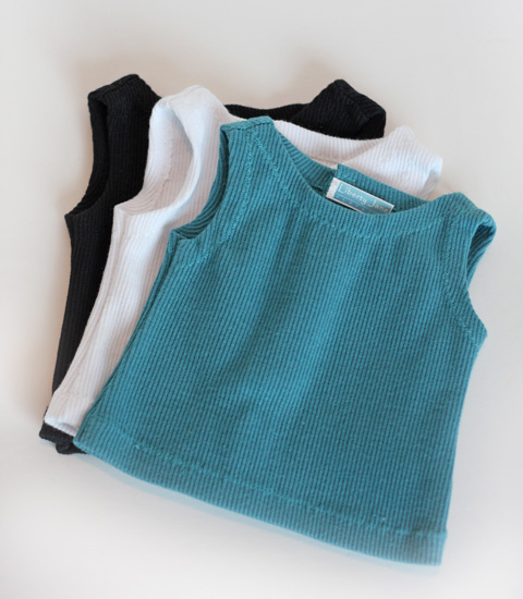 3 Tank Tops for AG Dolls