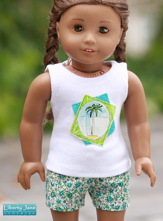 liberty jane doll clothes shorts for american girl doll liberty