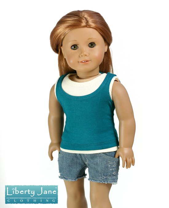 Cut off Shorts for American Girl Doll