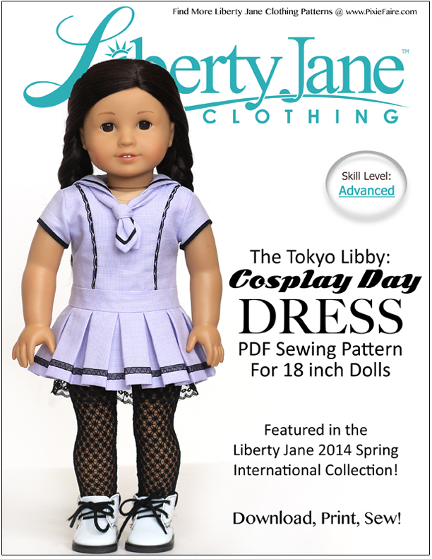 Cosplay Day | Liberty Jane Couture Doll Clothes and Sewing Patterns