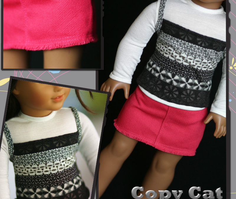 Copy Cat – Fall 2009 | Liberty Jane Couture Doll Clothes and Sewing ...